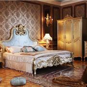 35平米法式风格卧室装修效果图赏析