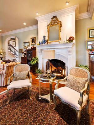 复古欧式风格别墅室内装修效果图鉴赏