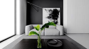 65平米后现代简约风格室内装修效果图赏析