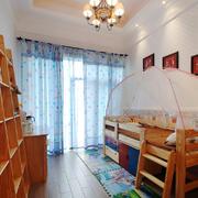 105平米现代风格儿童房实木床效果图鉴赏