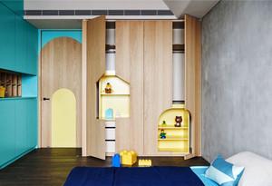 32平米现代简约风格儿童房装修效果图赏析