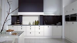 16平米现代简约风格开放式厨房装修效果图赏析
