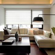 现代简约风格单身公寓客厅装修效果图鉴赏