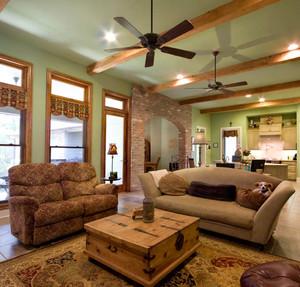 现代简约美式风格大户型室内装修效果图鉴赏