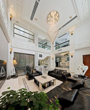 现代简约风格三层别墅室内装修效果图赏析