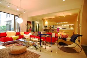 143平米现代简约奢华风格室内装修效果图赏析