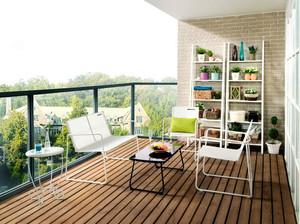 现代简约风格别墅阳台装修效果图赏析