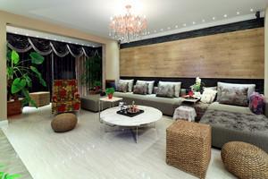 139平米现代简约中式风格室内装修效果图赏析