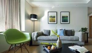 现代小清新风格一居室室内装修效果图鉴赏
