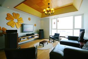现代中式风格四居室室内装修效果图赏析