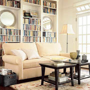 16平米简欧风格客厅书房装修效果图鉴赏