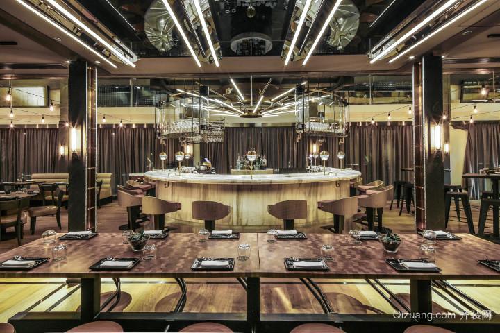 206平米后现代风格餐厅装修效果图鉴赏