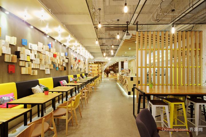 154平米现代风格书店装修效果图鉴赏