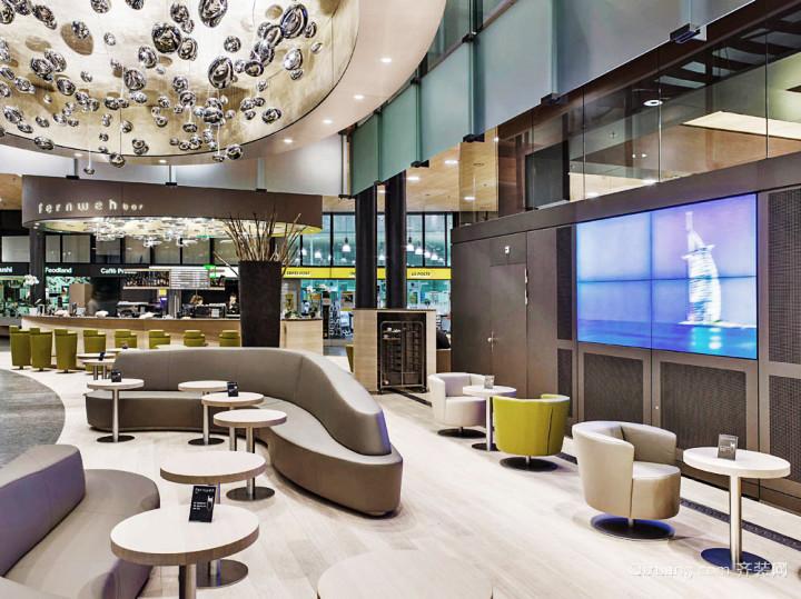 178平米现代简约风格咖啡厅装修效果图赏析