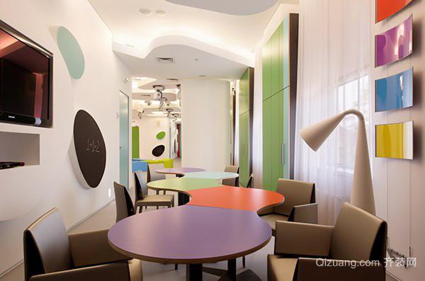 98平米现代风格幼儿园教室装修效果图鉴赏