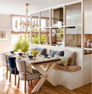 北欧风格三居室厨房餐厅装修效果图赏析