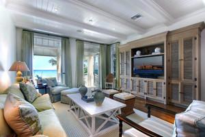 128平米地中海风格客厅电视背景墙效果图赏析