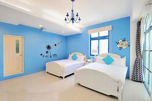 地中海简约风格三居室儿童房装修效果图赏析