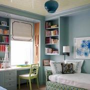 110平米地中海风格卧室书房装修效果图鉴赏