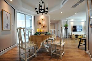 126平米东南亚简约风格餐厅装修效果图鉴赏
