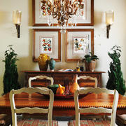 古典欧式风格二居室餐厅装修效果图鉴赏