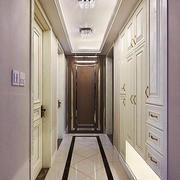 简欧风格大户型客厅过道装修效果图赏析