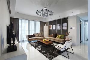 121平米简欧风格两居室室内装修效果图鉴赏