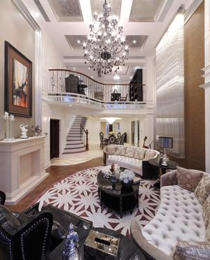 460平米简欧风格别墅室内装修效果图赏析