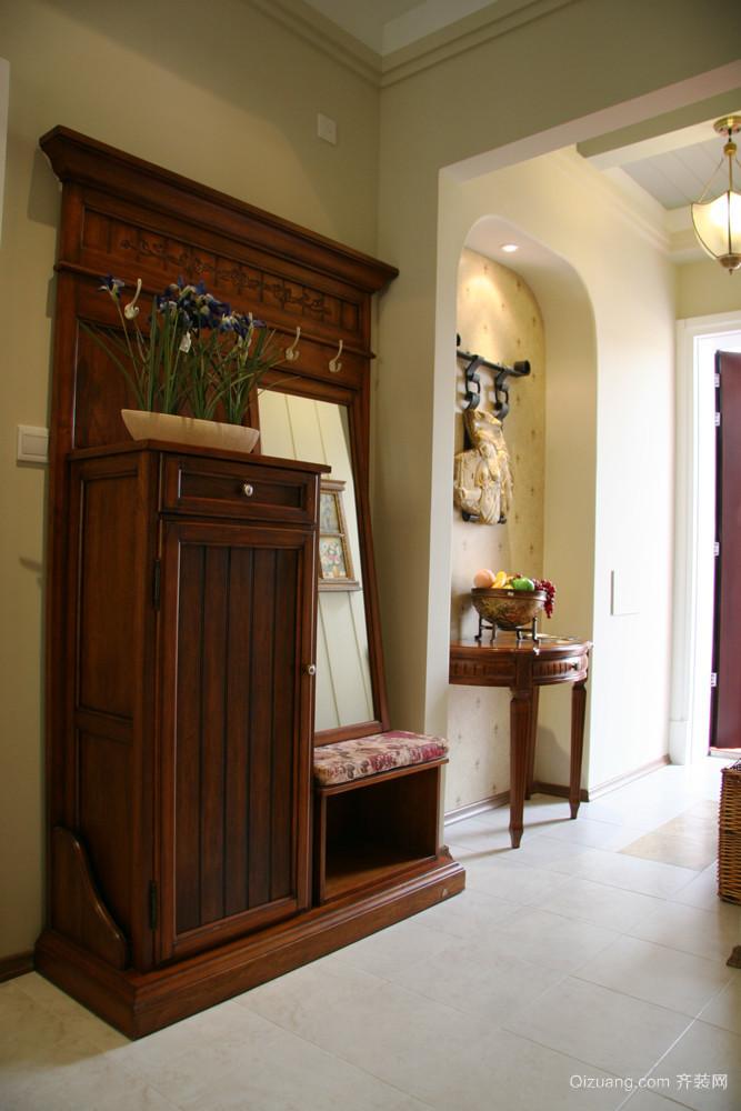 欧式田园风格复式楼室内装修效果图赏析