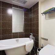 19平米现代简约风格卫生间装修效果图赏析
