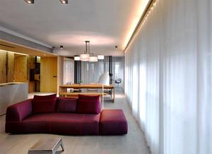 现代loft风格两居室室内装修效果图赏析