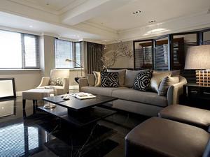 126平米新古典主义风格室内装修效果图赏析