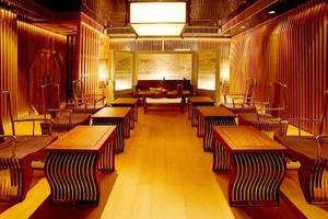 129平米中式风格室内装修效果图鉴赏