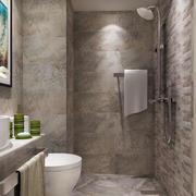 10平米现代风格卫生间装修效果图赏析