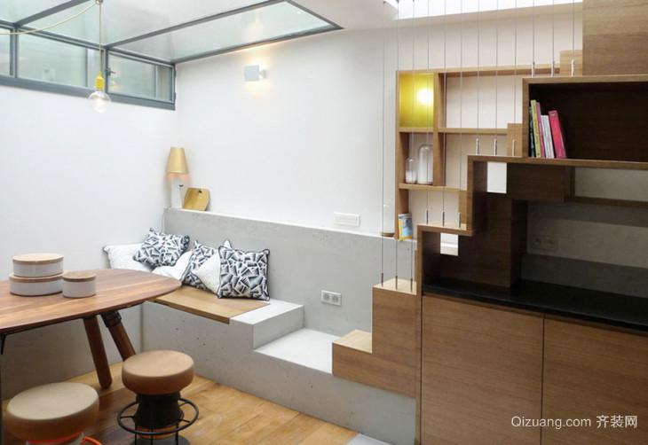 45平米现代loft风格错层室内装修效果图赏析