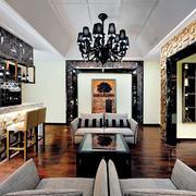 93平米欧式风格酒吧装修效果图鉴赏