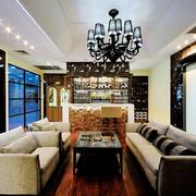 110平米现代风格酒吧吧台效果图鉴赏