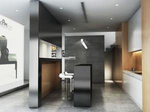 北欧风格小户型厨房吧台效果图赏析
