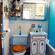 76平米地中海风格卫生间马赛克瓷砖效果图鉴赏
