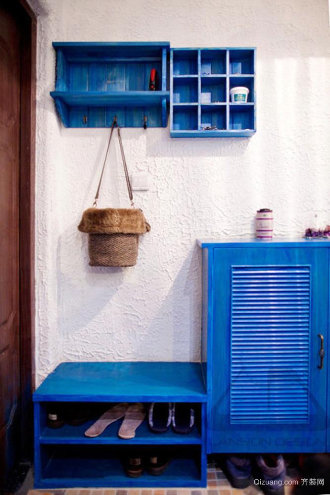 地中海风格小户型室内玄关效果图赏析