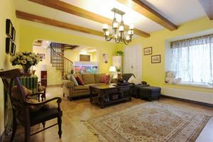 古典美式风格别墅室内装修效果图赏析