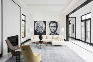 30平米后现代风格客厅装修效果图赏析