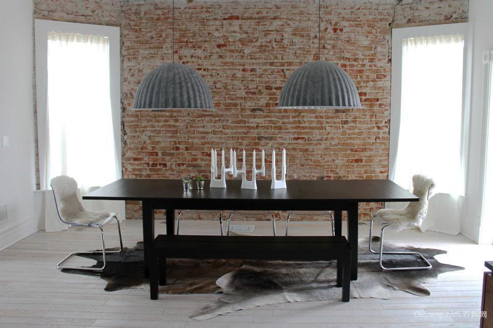 后现代风格单身公寓餐厅装修效果图鉴赏