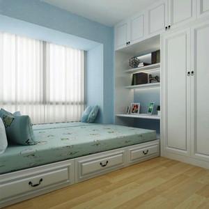 简欧风格三居室榻榻米书房一体设计效果图赏析