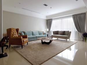 简欧风格清新自然三居室室内装修效果图赏析