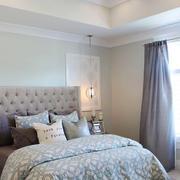 简欧风格二居室卧室装修效果图赏析