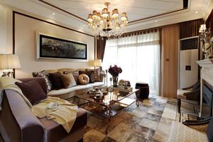 欧式奢华风格大户型室内装修效果图鉴赏