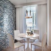 102平米极简主义风格餐厅装修效果图鉴赏