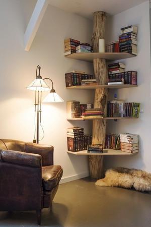 现代风格一居室客厅创意书房效果图赏析
