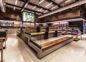 108平米乡村风格咖啡厅设计装修效果图赏析